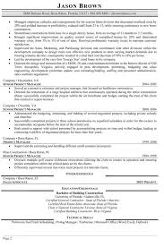 Sample Project Manager Resume Documents in PDF Word documents
