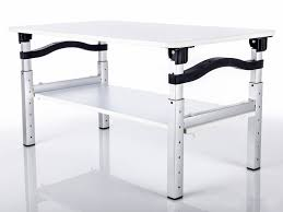 Tabletop standing desk for schools