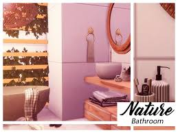 Nature Bathroom - The Sims 4 Download - SimsDomination
