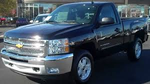 2013 Chevrolet Silverado Reg Cab 4wd Z71 Black, Burns Chevrolet ...