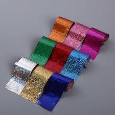 <b>Nail</b> Art Holographic <b>Foil</b> 10 Rolls 2.5*100cm <b>Colorful</b> Laser Starry ...