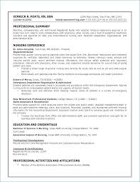 Examples Of Nurse Resumes Fascinating Nursing Resume Example Awesome Nurse Resume Example Atopetioa