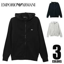 Emporio Armaniエンポリオ アルマーニhooded Sweater Sleeve メンズ Zip パーカー おしゃれ ラッピング無料 111666 575