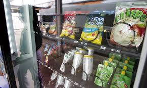 Lunch Vending Machines Custom New Orleans Area Schools Test Healthy Snack Vending Machines NOLA