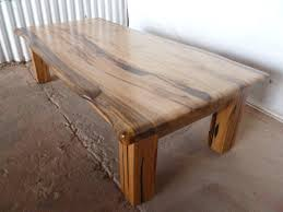 marri slab coffee table