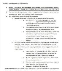 persuasive essay samples examples format  sample 5 paragraph persuasive essay