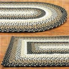 ll bean braided rugs ll bean chenille braided rug rugs red and black woven round