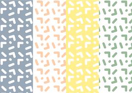 Free Memphis Pattern Vector Download Free Vector Art Stock