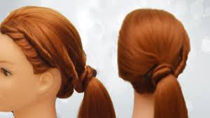 Quick Ponytail Hairstyles Quick Ponytail Hairstyles For School Diy Ponytail Hairstyles