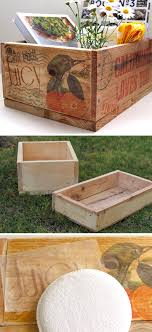 diy home decor ideas with pallets. pallet wood crates as storage | click pic for 25 diy home decor ideas on a diy with pallets