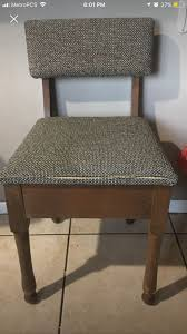 1960s vintage sewing chair opens with storage inside seat antiques in fountain valley ca offerup