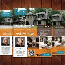 flyers real estate lead generator realtor open house listing design