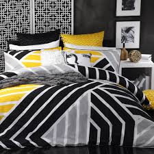 duvet covers 33 innovational ideas black and yellow duvet cover scout quilt set by logan mason
