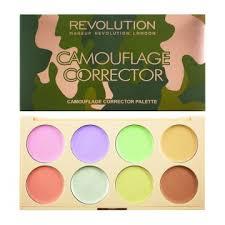 makeup revolution farbliche camouflage concealerpalette