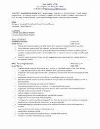 Resume Objective Examples Luxury 20 Social Worker Sample Resume