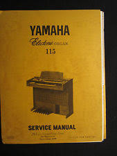 yamaha wiring new listing yamaha electone organ 115 service repair shop manual schematics wiring parts