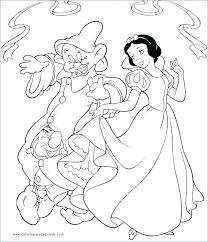 Disney Princess Coloring Pages Snow White Free Princess Coloring