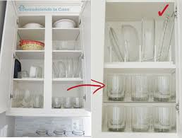 glasses cabinets need to be properly divided to take the most space out of them