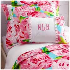 lilly pulitzer other lilly pulitzer full queen duvet cover 1 sham