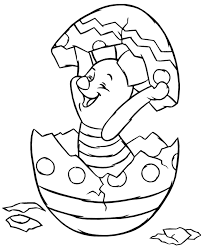 Me on 11:17 am find 15 beautiful frozen disney coloring pages free with all of the character. Print Piglet Hatching From Easter Egg Disney Easter Coloring Page Coloring Home