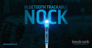 Trackable Bluetooth Lighted Nock Breadcrumb