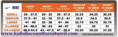 Nike Mens Shorts Size Chart Kidsdiscountfurnitureil Com