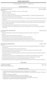 Sap Basis Administrator Resume Sample Mintresume