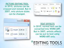 Ms Office 2010 Vs 2007