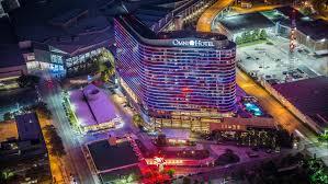 Downtown Dallas Purple Lights Meetings And Events At Omni Dallas Hotel Dallas Tx Us