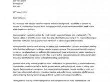Rn Cover Letter Sample Gallery – Letter Format Formal Example ...