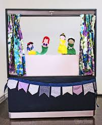 the bottom to make it a bit more fun but when the curtains open and the princess sock puppets come to the stage the fun in our house off the hook
