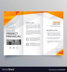 Creative Brochure Design Vector Free Download Tri Fold Ironi Celikdemirsan Com