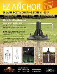 solar light posts for driveways dumound new technology makes outdoor lighting a cinch networx home design