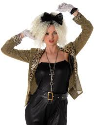 Sentinel 80s Mega Pop Star Fancy Dress Ladies 1980s Madonna Celebrity Women  Adult Costume Sc 1 St EBay