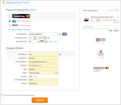 step 1 per enters card information and submits payment form