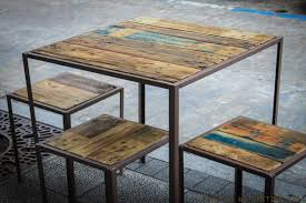 I Recycled Pallet And Metal Coffee Tables