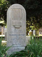 john keats  keats grave in rome