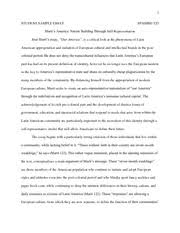 sample essay yzur span student sample essay spanish  3 pages sample essay 2 our america span520