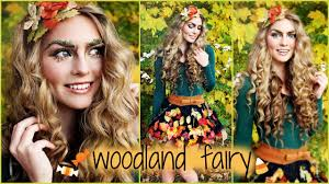 woodland forest fairy makeup hair tutorial and d i y costume idea jackie wyers you