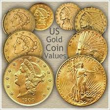 Us Coin Values Chart Gold Coin Values