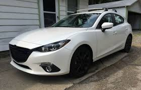Black Mazda 3 Black On White Is Looking Quite Alright 2015 Mazda 3 S Touring