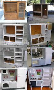 Kitchen Tvs Wonderful Diy Play Kitchen From Tv Cabinets Cabinets Ideas And Tvs