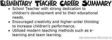 Resume Career Summary Examples Of Career Summary
