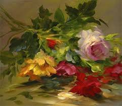 gary jenkins flower painting a rose specialist a super talented and enthusiastic artist can still be seen on pbs