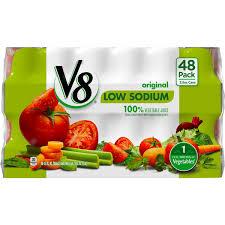 v8 v8 original low sodium 100 vegetable juice