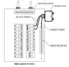can a home surge protector be installed loose in the bottom of an surge suppressor wiring diagram there are other options, such as a surge protector designed to install directly to the bus bar with the circuit breakers, which is manufactured by square d