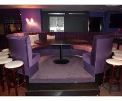 dining booth furniture. fixed booth seating, proud cabaret, mark lane, london dining furniture