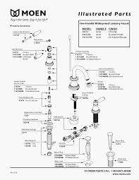 moen monticello faucet parts diagram new moen kitchen faucet parts diagram luxury moen bathroom sink faucet