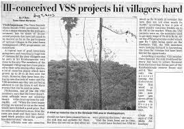 centre for science and environment ill conceived vss projects hit villagers hard the times of 9 2003