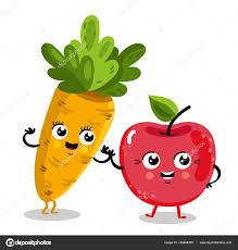 Personnages De Dessin Anim Dr Le Fruits Et L Gumes Image